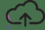 Uploading icon artigram