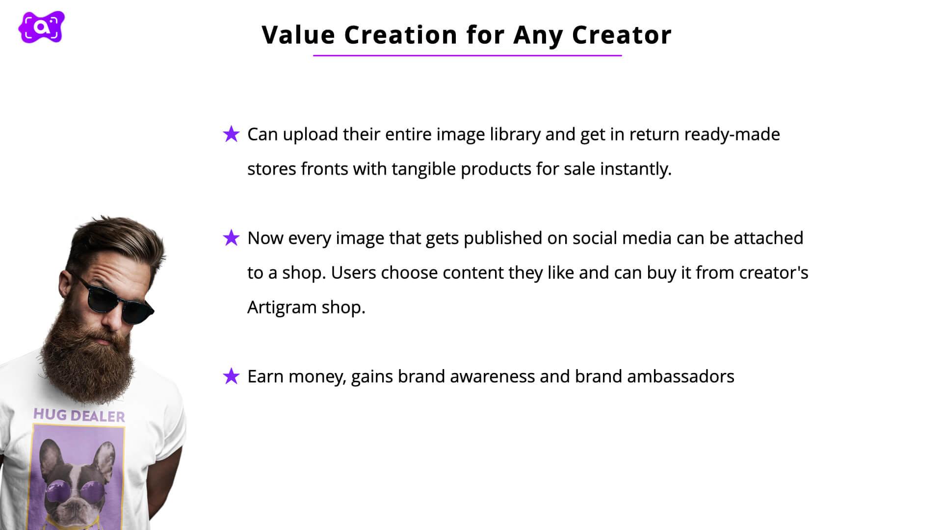 Artigram for creators 2.012